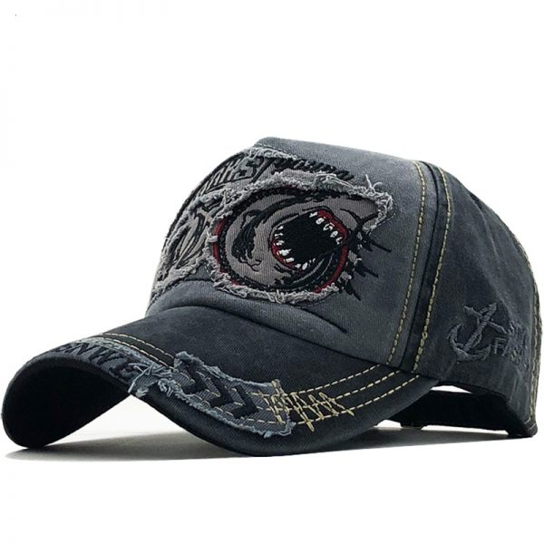 New Cotton Men baseball cap for women snapback hat Shark embroidery bone caps gorras casual casquette men baseball hats